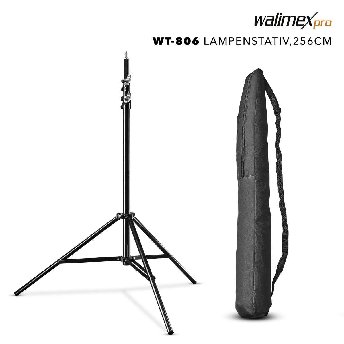 Walimex pro WT-806 Lamp Tripod, 256cm