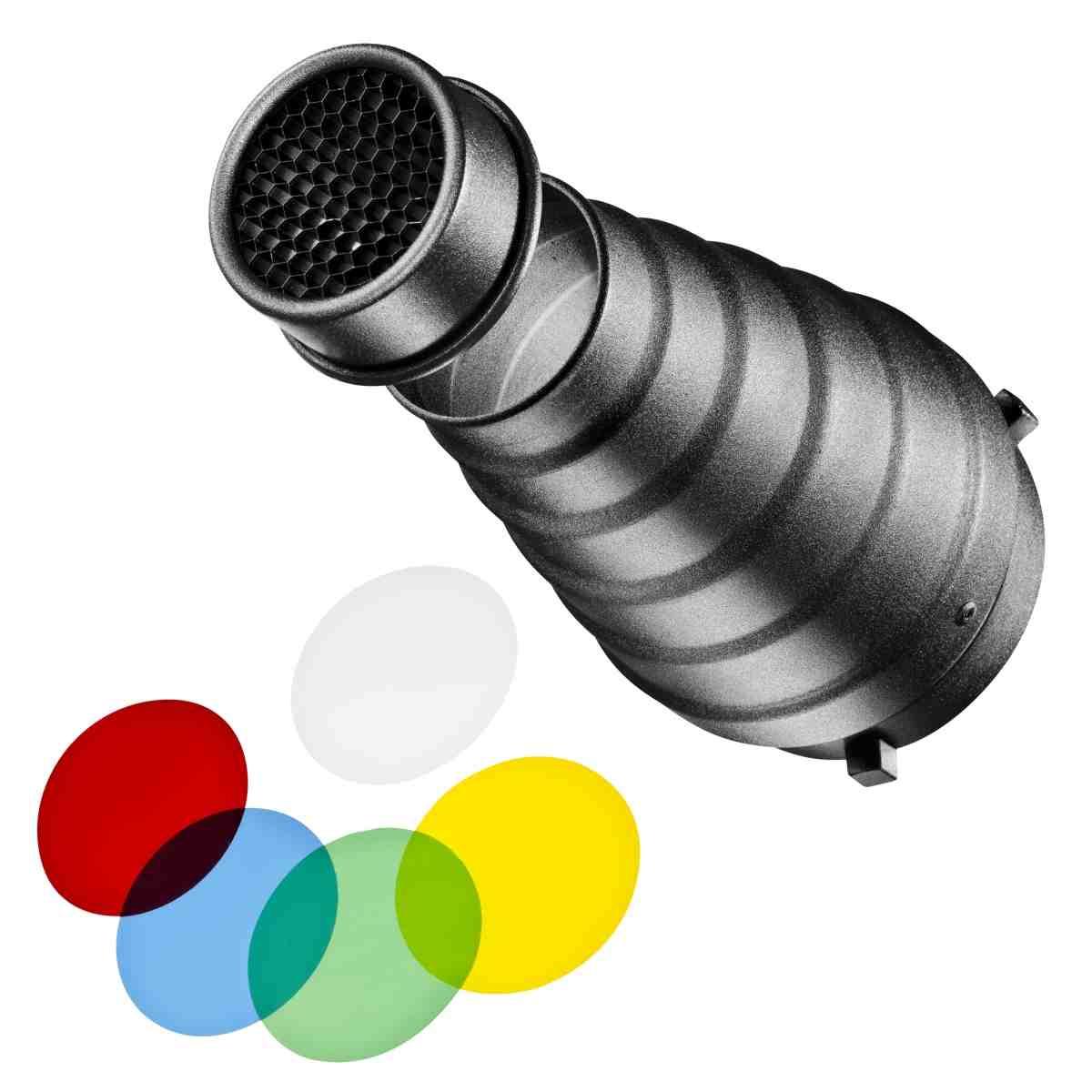 Walimex Universal Conical Snoot Set Aurora/Bowens