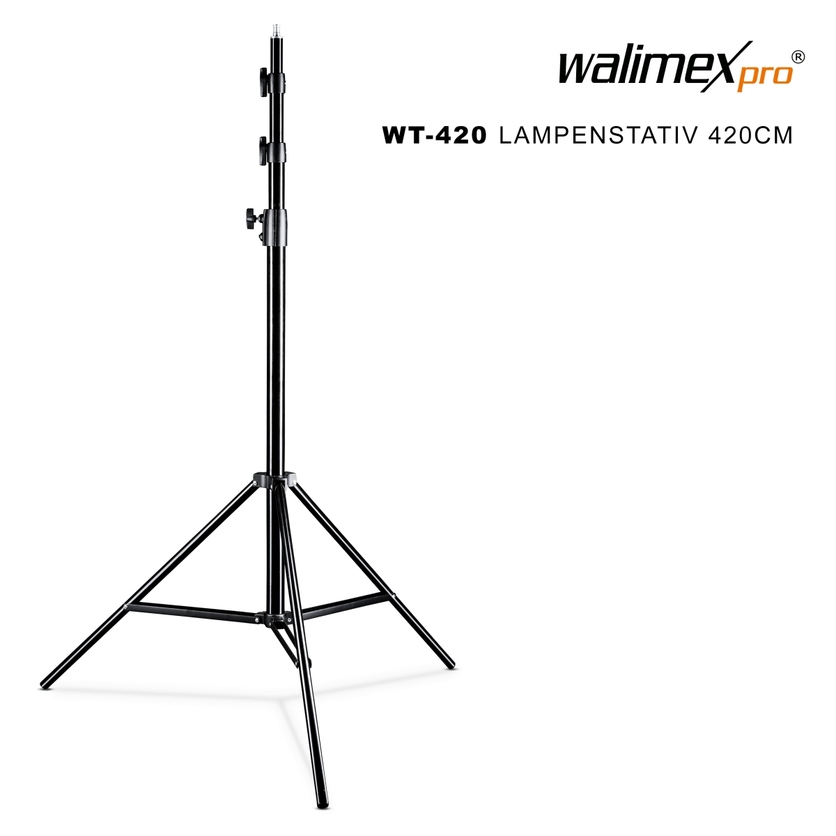 Walimex WT-420 Lamp Stand, 420cm