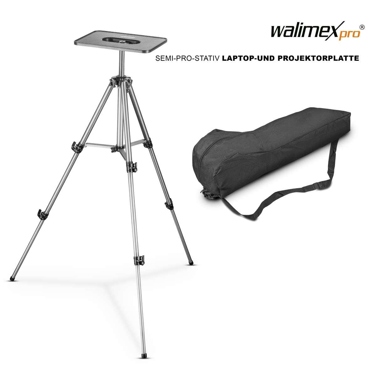 Walimex tripod 140 cm Laptop- & Projector Pallet