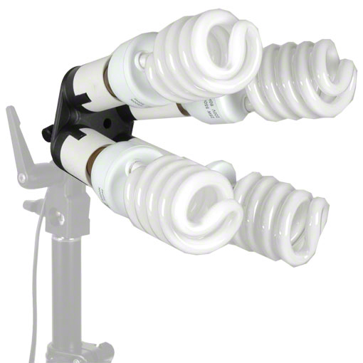 Walimex 4-fold Lamp Holder with 4 Daylights