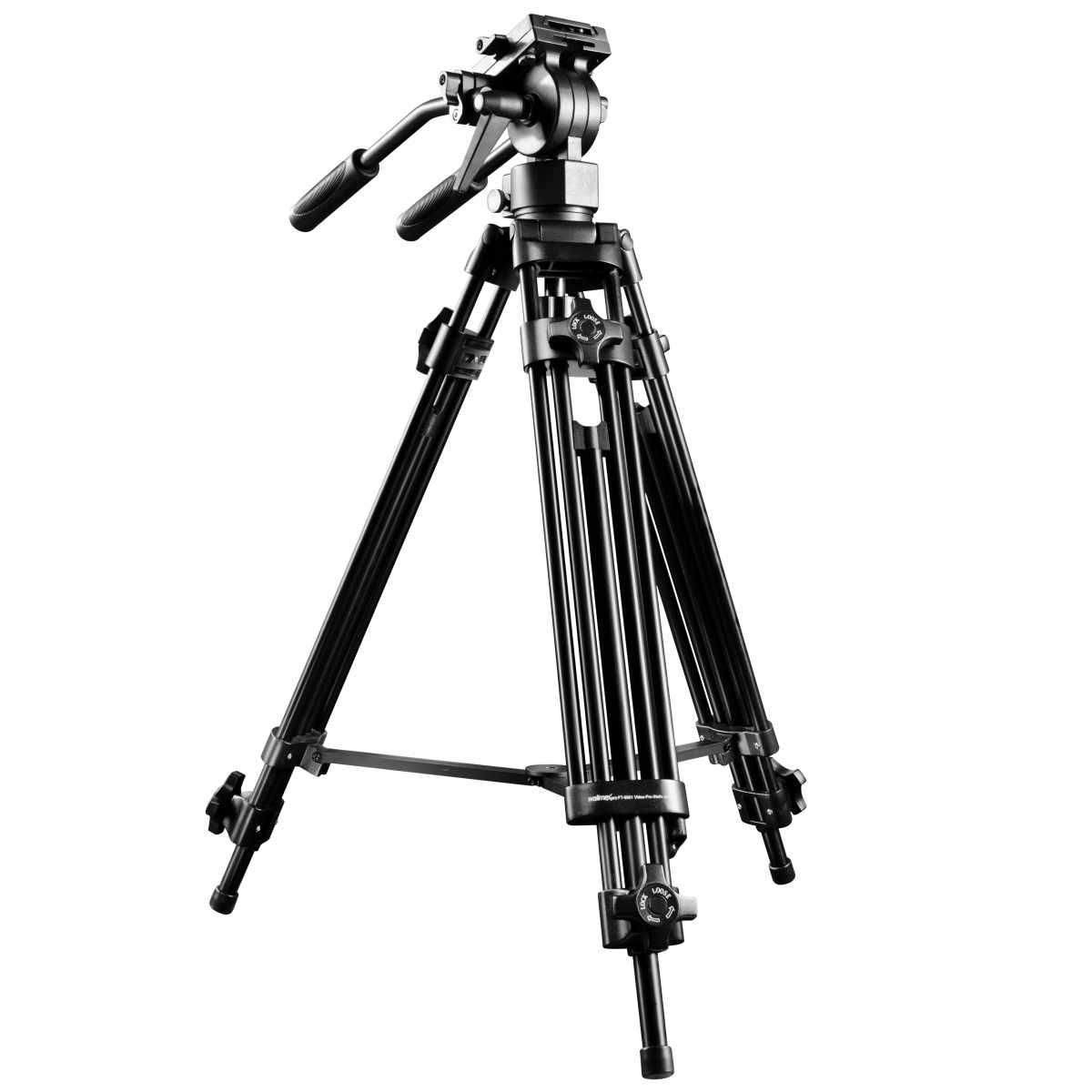 Walimex pro EI-9901 Video-Pro-Tripod, 138cm