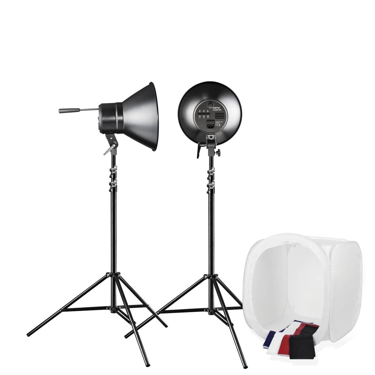 Walimex Studioset Daylight 600/600 with Light Tent