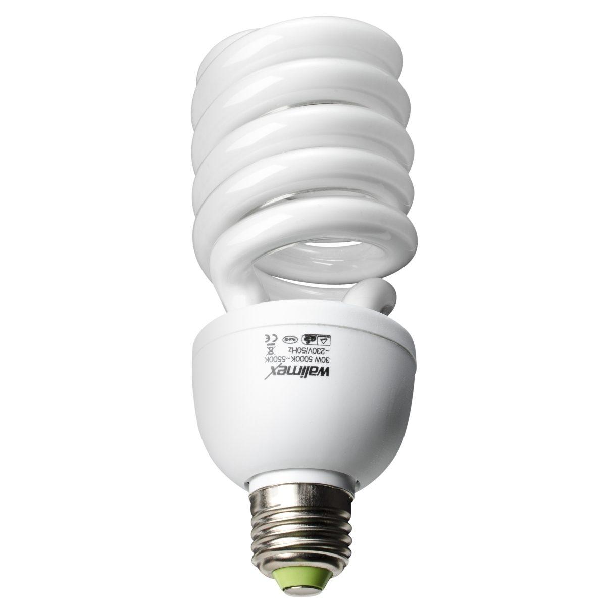 Walimex Spiral Daylight Lamp 16W equates 90W