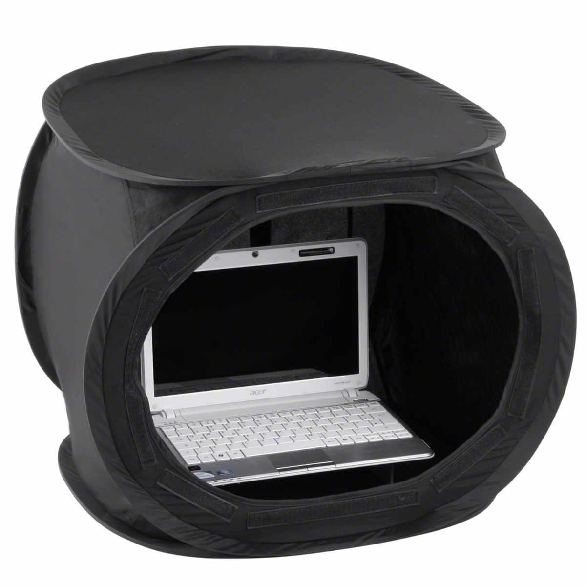 Walimex Pop-Up Laptop Tent 50x50x50cm super black