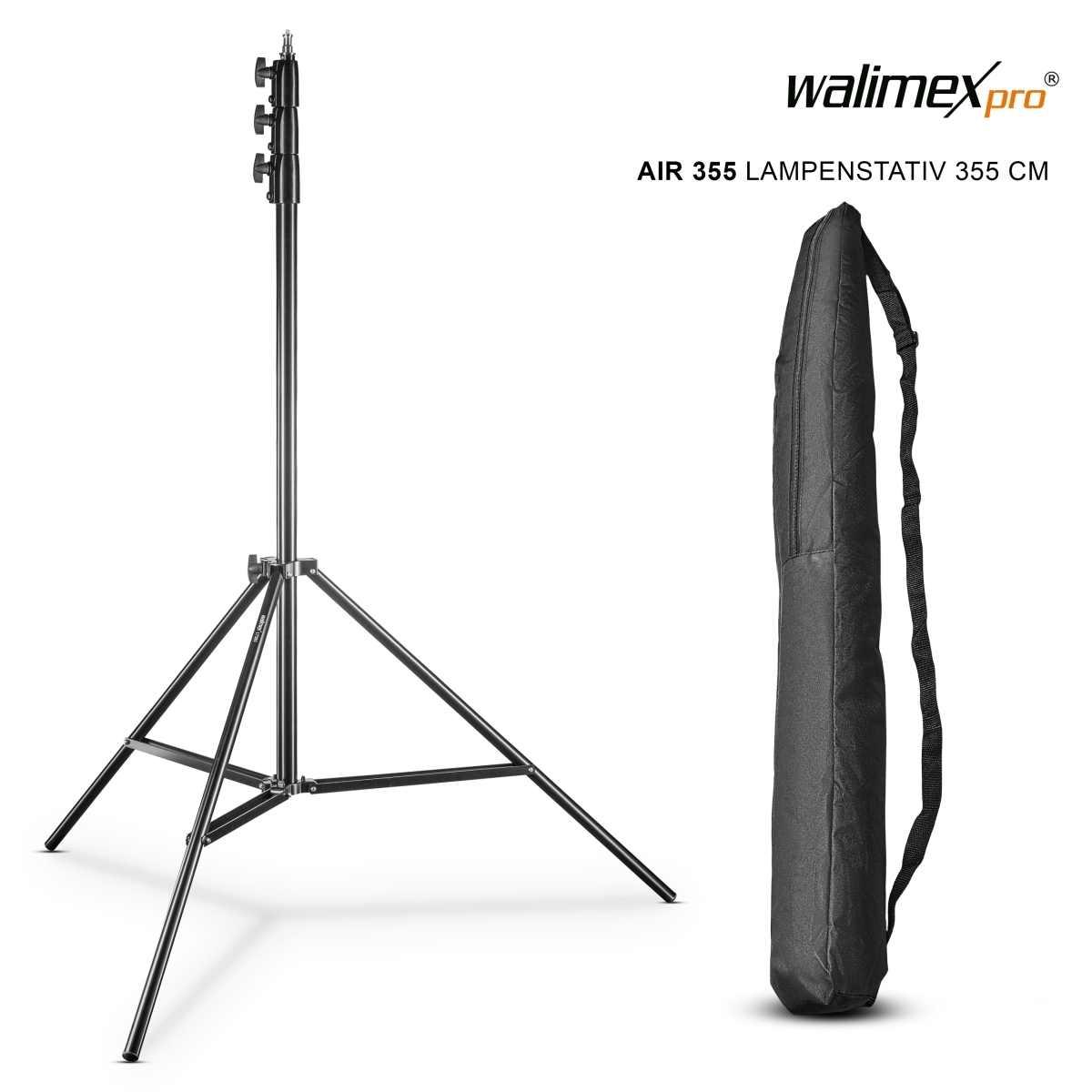 Walimex pro Lamp Tripod AIR, 355cm