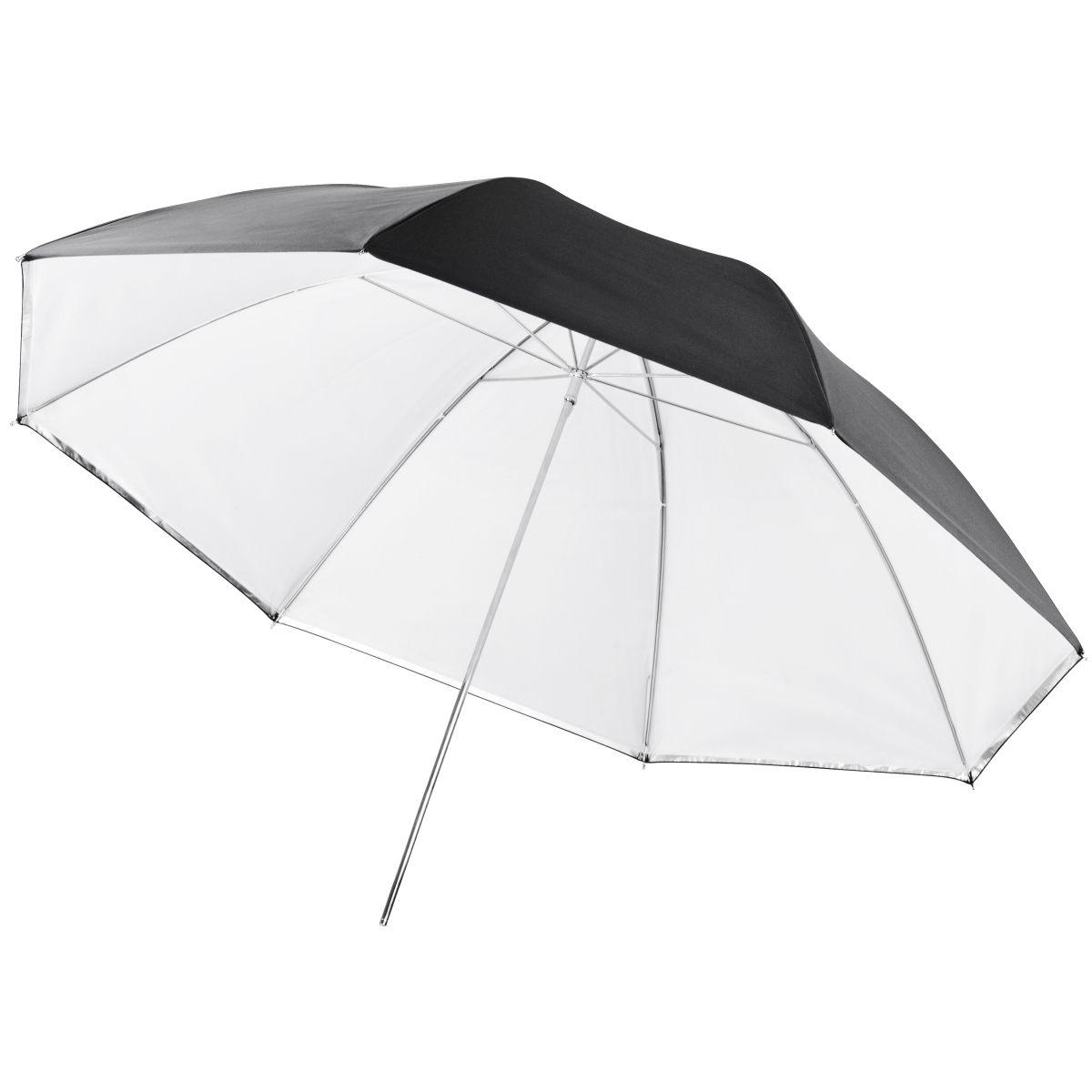 Walimex 2in1 Reflex & Transl. Umbrella white 109cm
