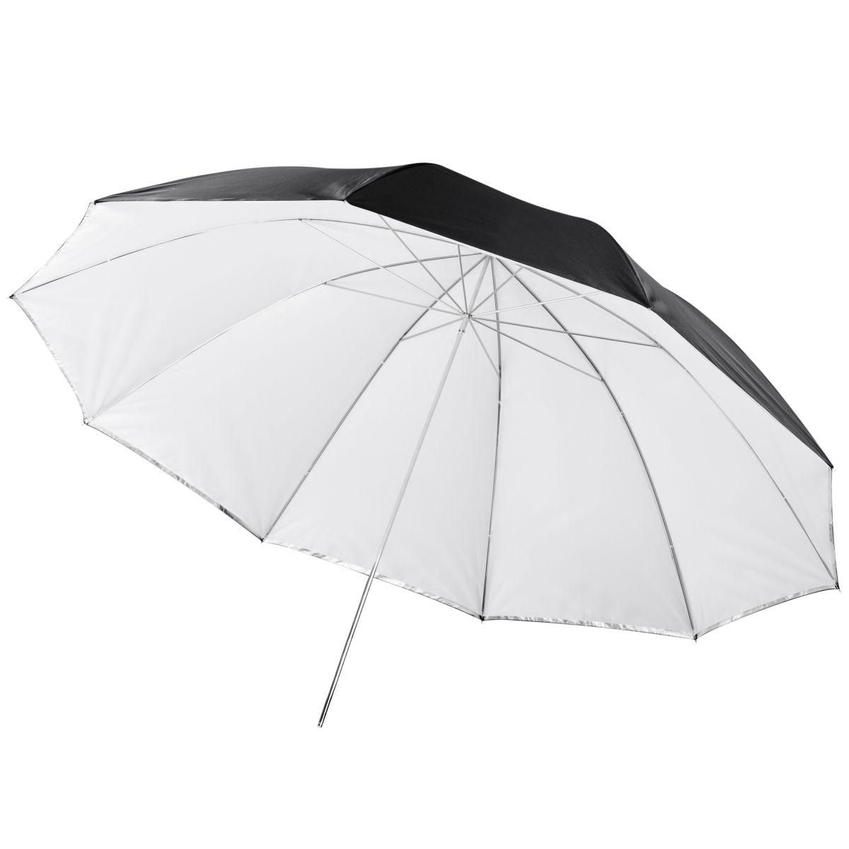 Walimex 2in1 Reflex & Transl. Umbrella white 150cm