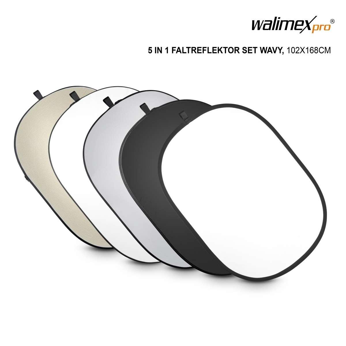 Walimex pro 5in1 Foldable Reflector Set, 102x168cm