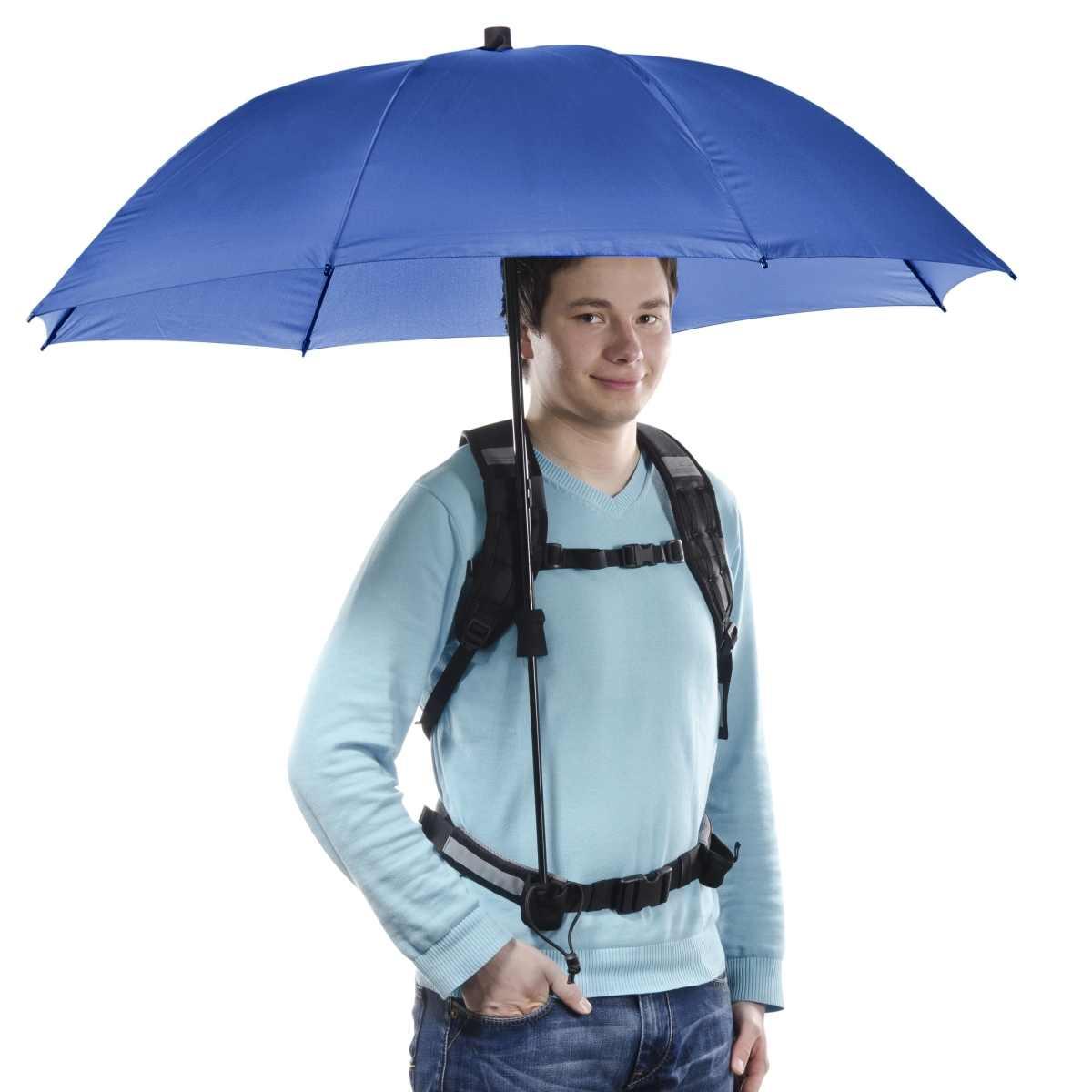 Swing handsfree Umbrella navy w. Carrier System