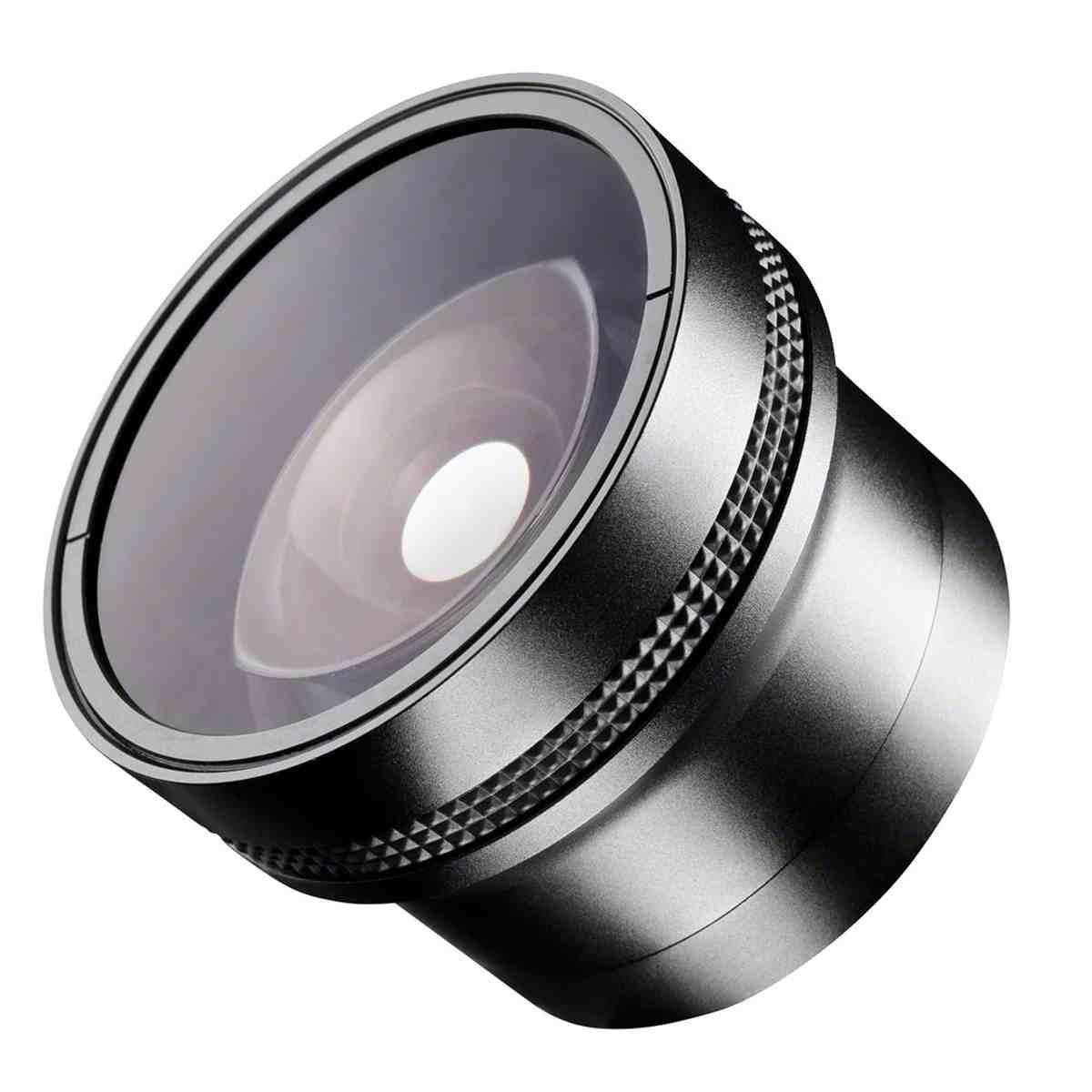 0.25x 52mm Fish-Eye Conversion Lens + Macro