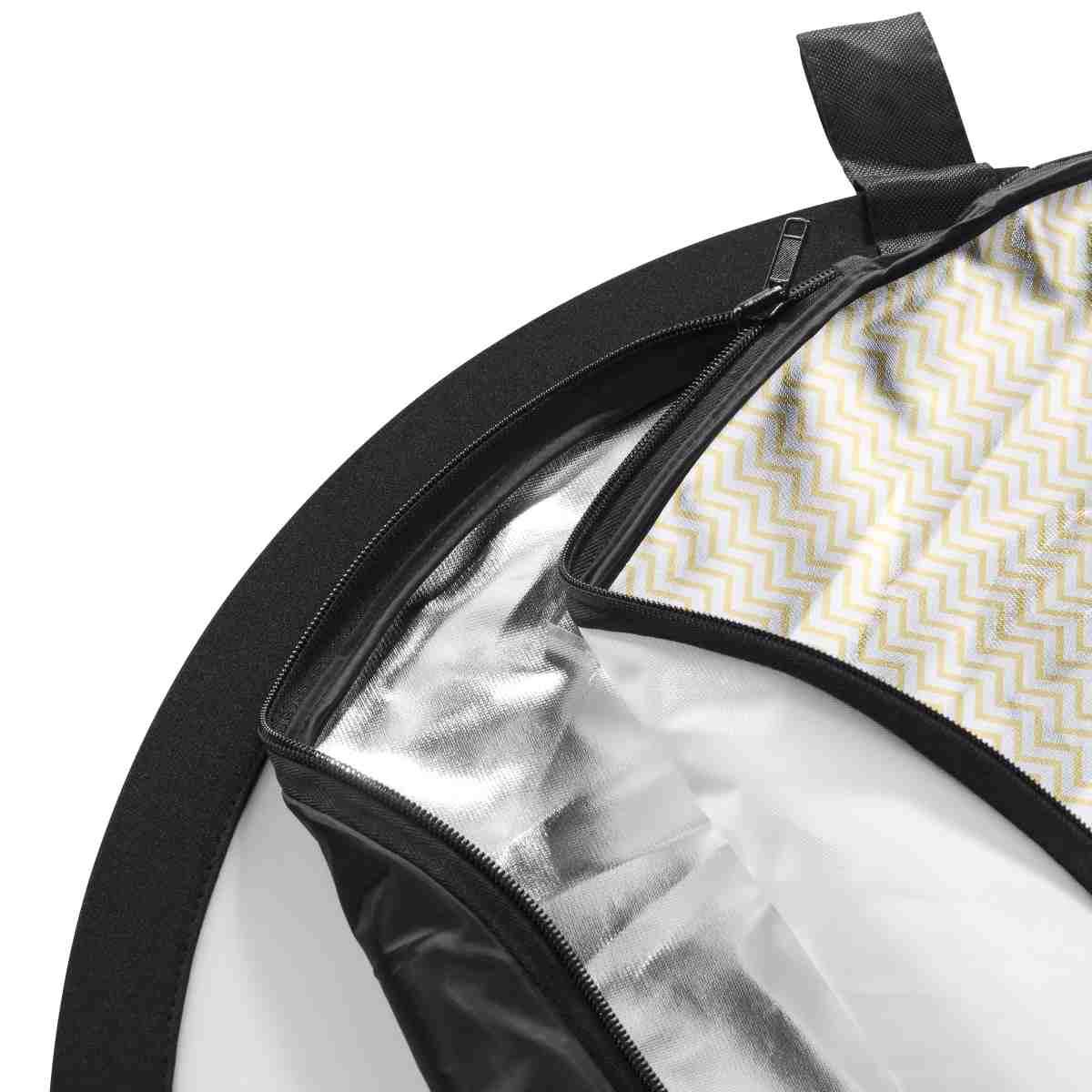 Walimex pro 5in1 Foldable Reflector wavy 150x200