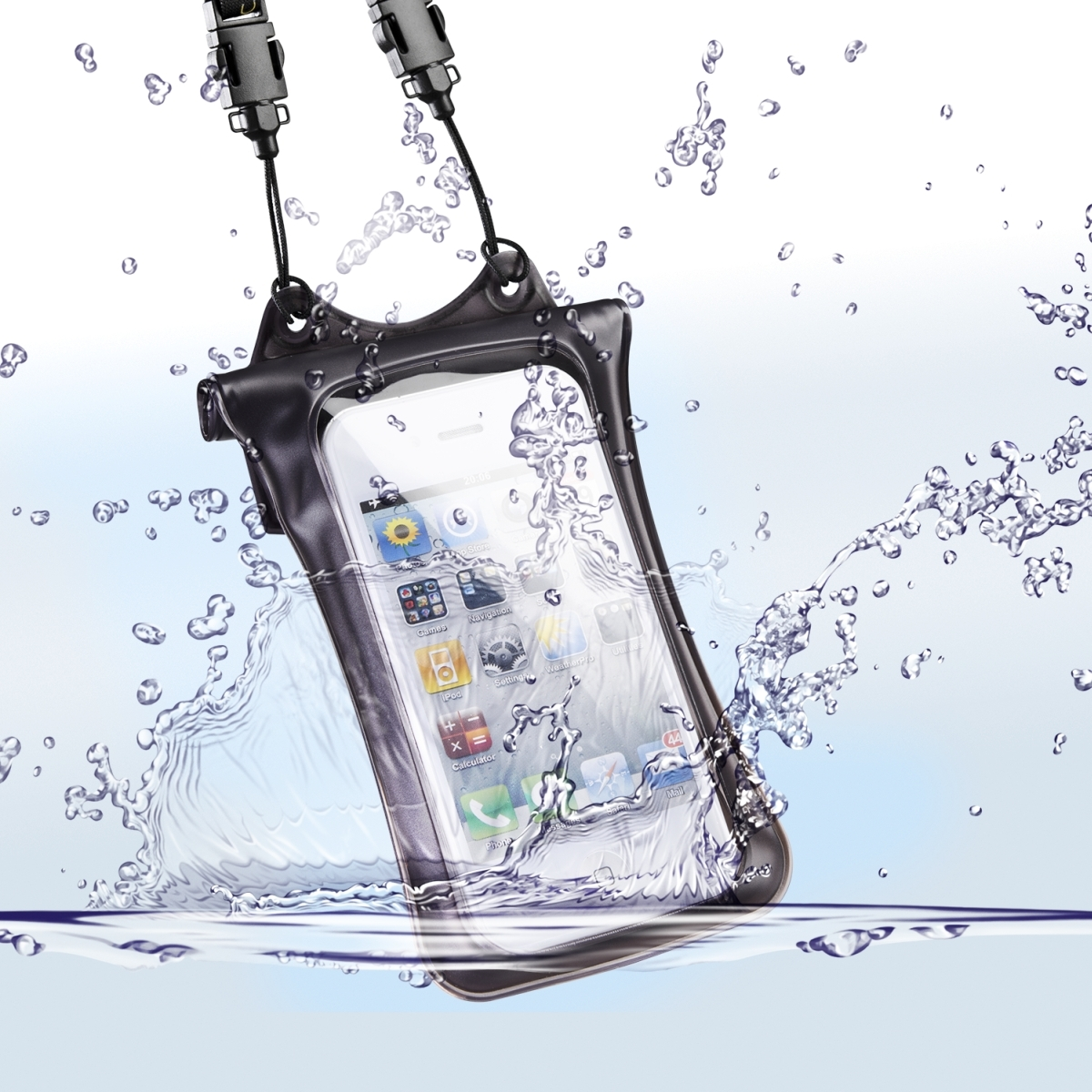 WPi10 Underwater Bag f. iPhone & iPod, black