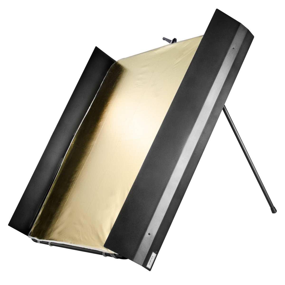 Walimex pro Reflector Panel with Barn Doors, 1x1m