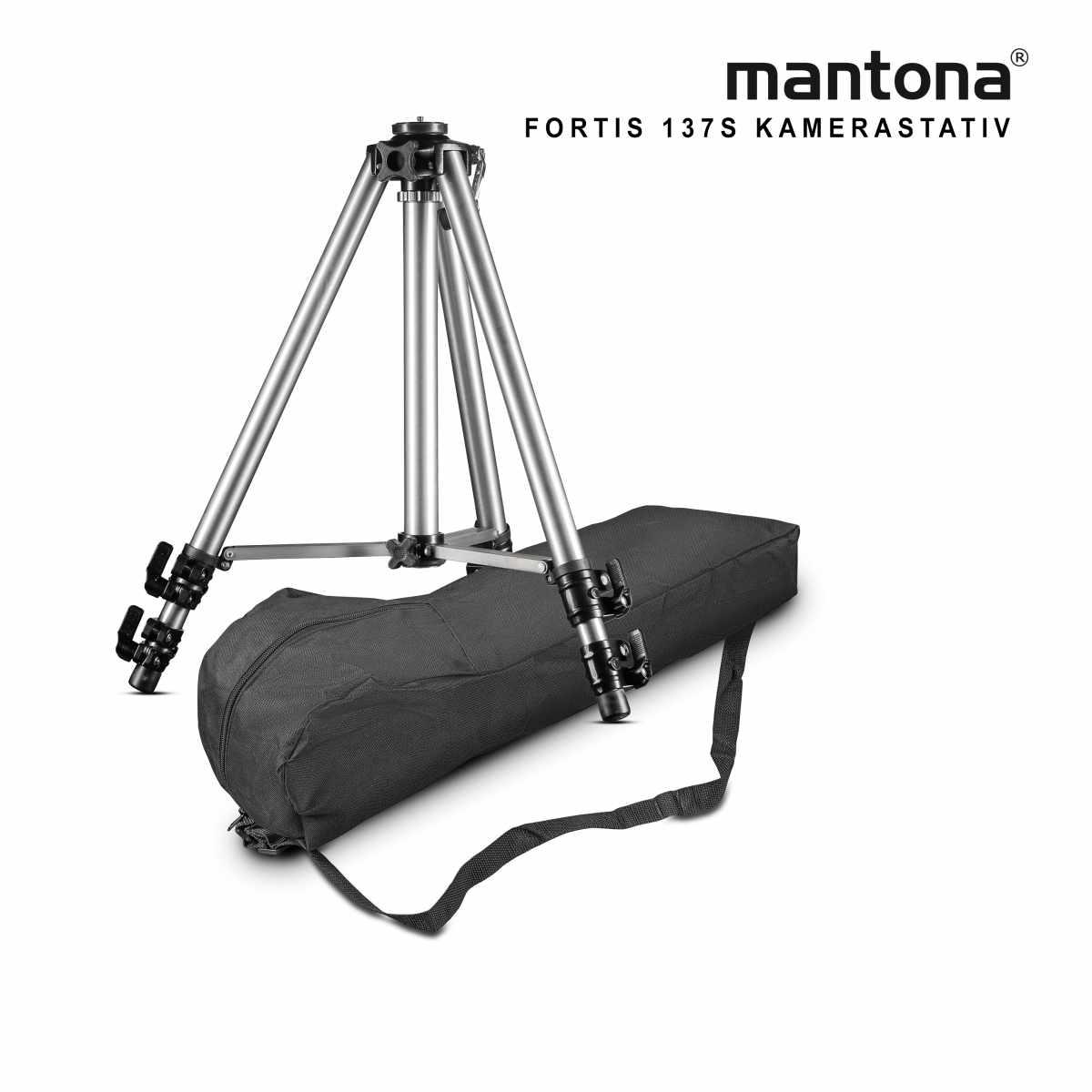 Mantona Basic Fortis 137S tripod