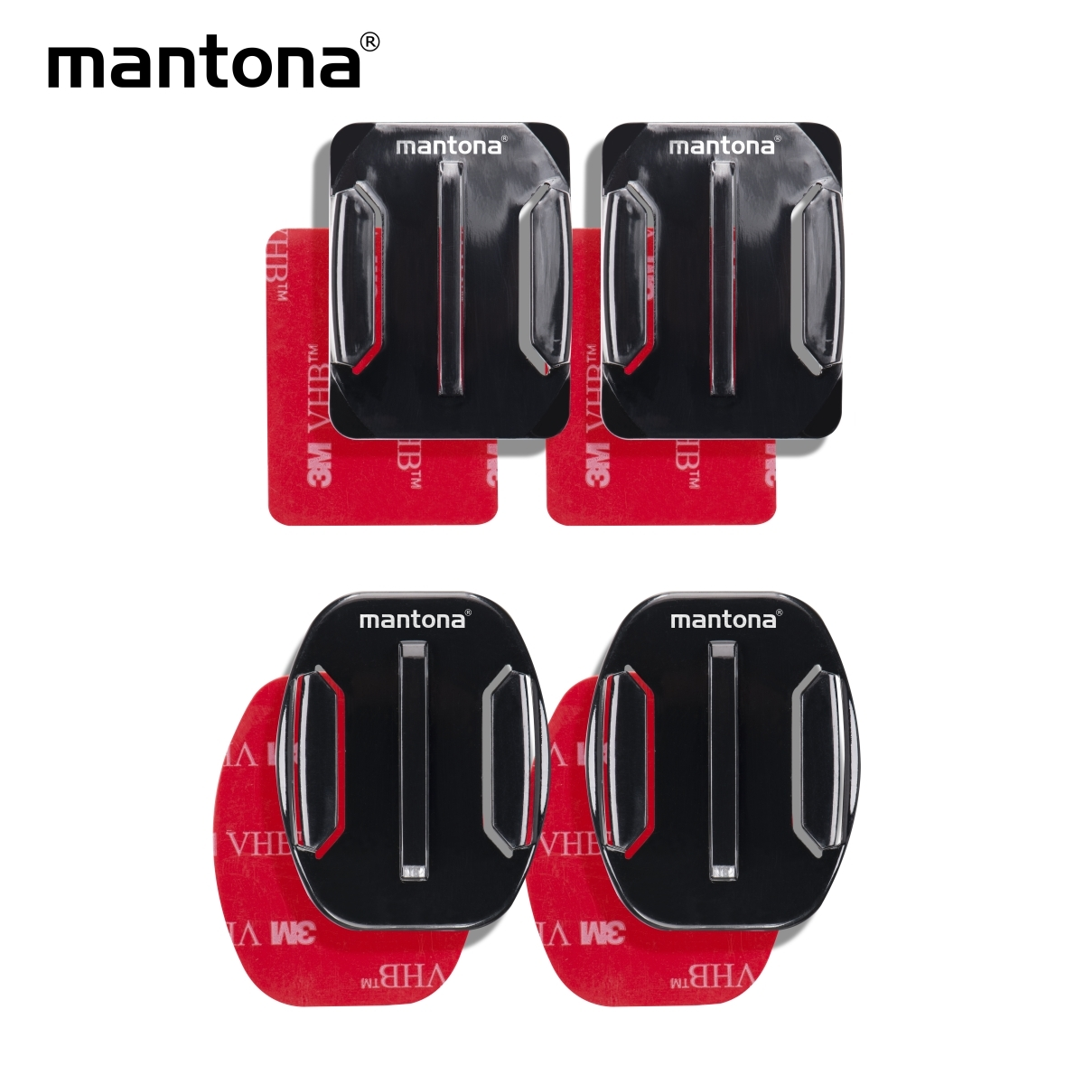 Mantona Adhesive mounting for GoPro