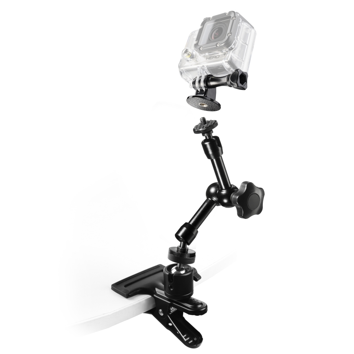 Mantona GoPro Clamp Set I