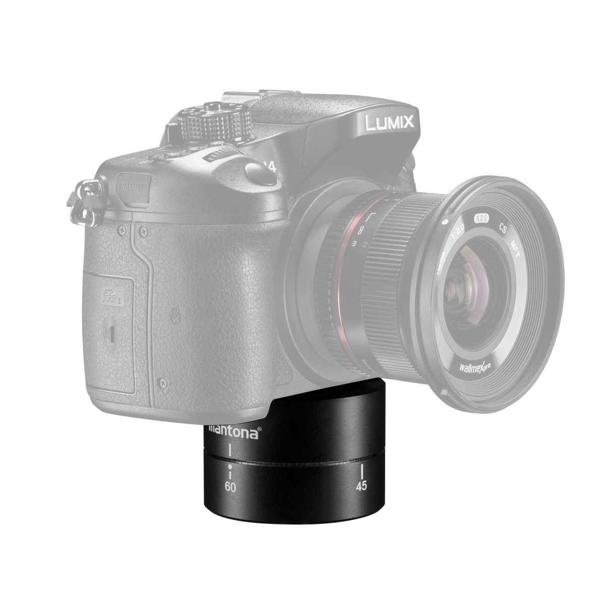 Mantona Turnaround 360 tripod head for GoPro