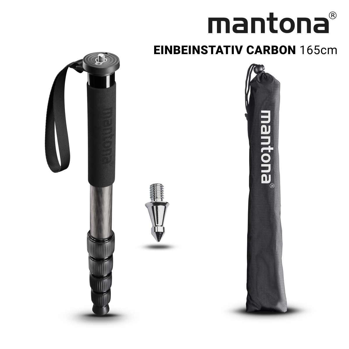 Mantona monopod Pro ONE 165C