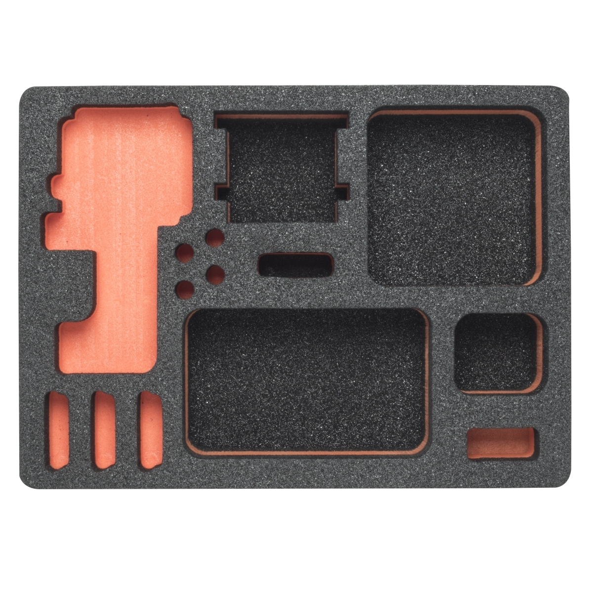 Mantona foam plastic inlay GoPro case M