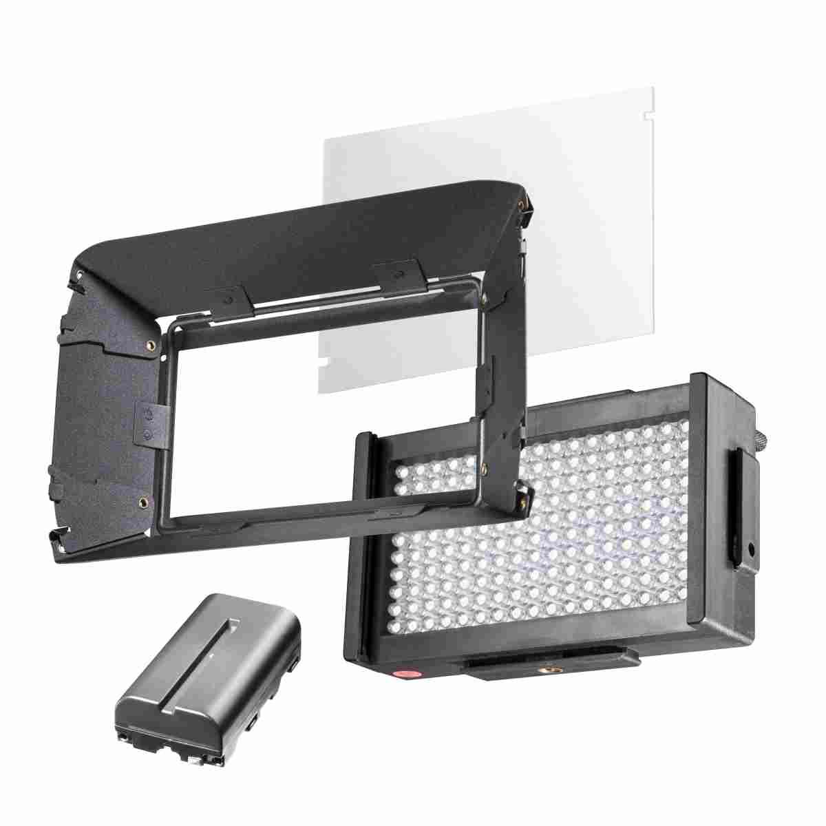 Walimex pro LED Foto Video Square 170 Bi Color