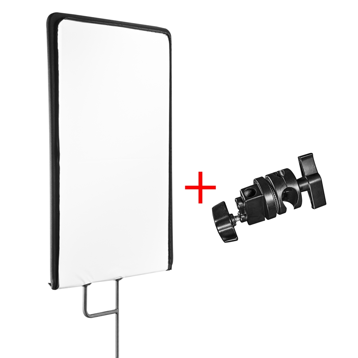Walimex pro 4in1 Reflector Panel, 75x90cm + clamp