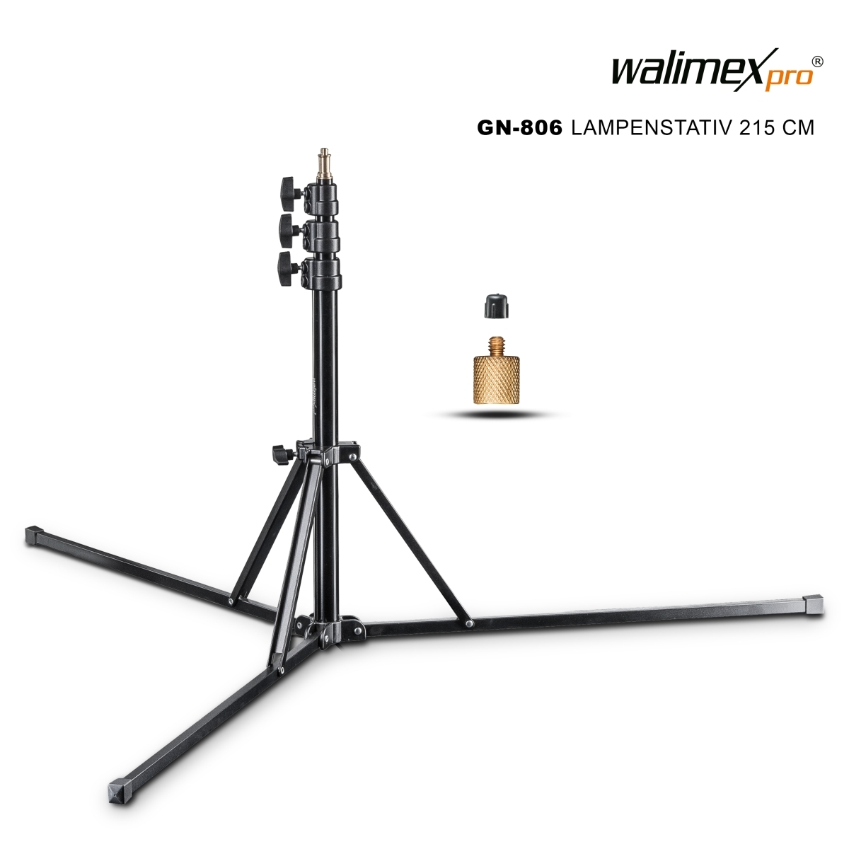 Walimex pro GN-806 Lamp stand 215cm