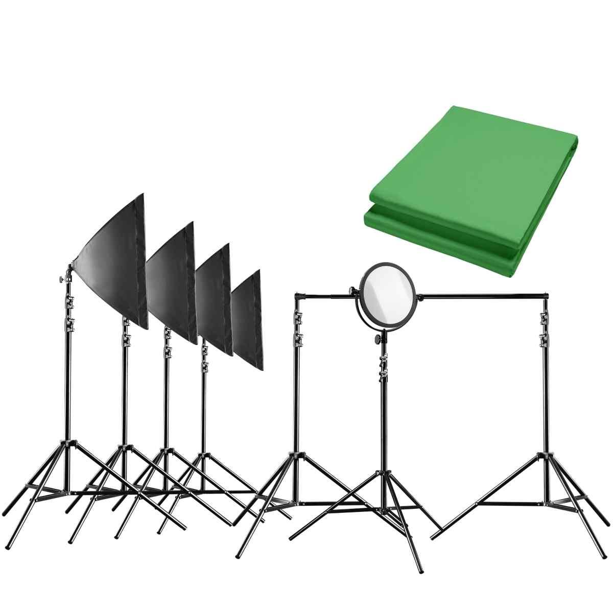 Walimex pro Video Greenscreen Set Pro