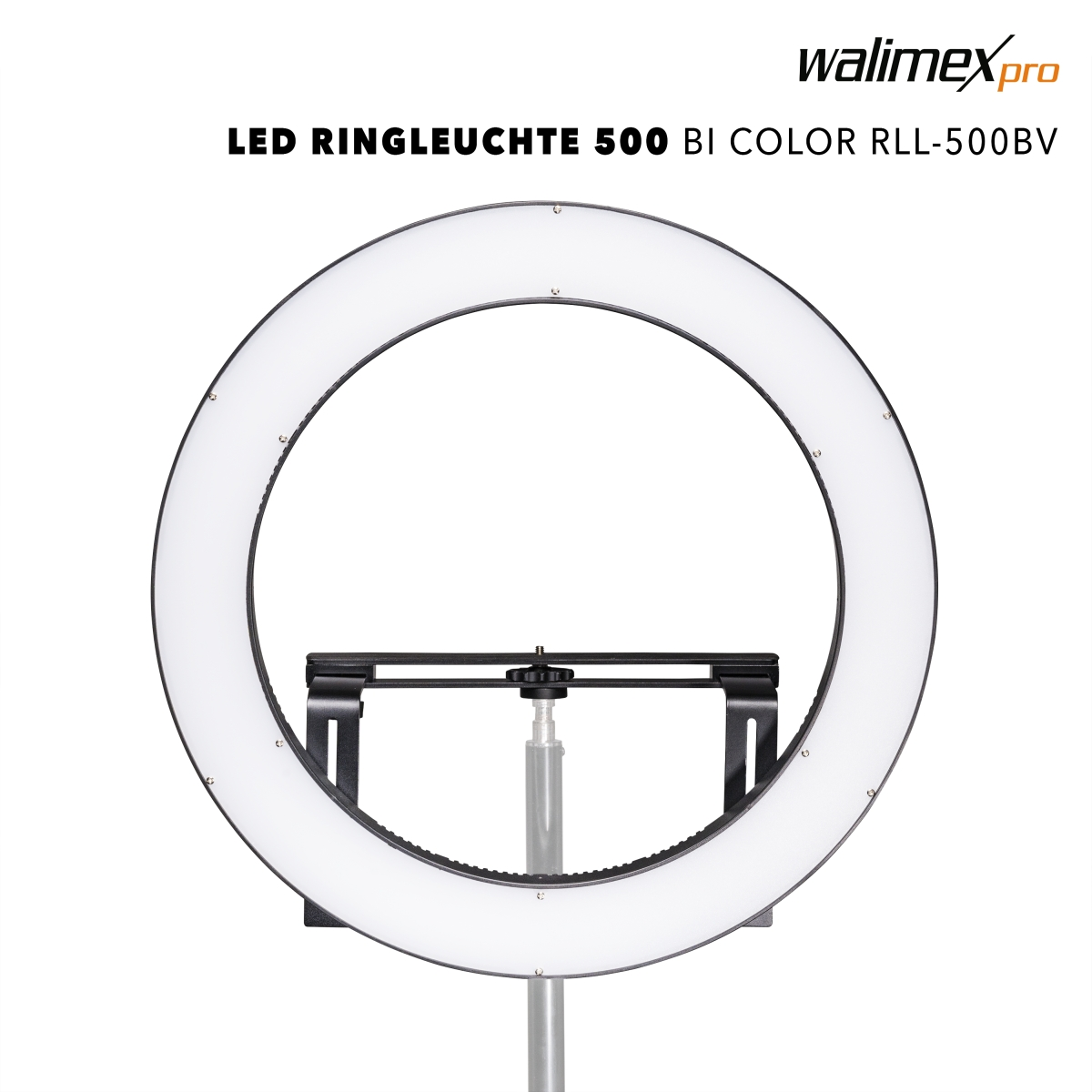 Walimex pro LED Ring Light 500 Bi Color RLL-500BV