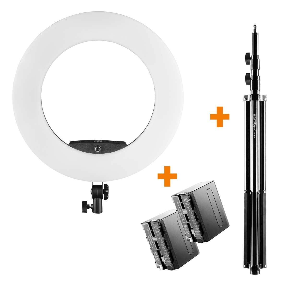 Walimex pro LED Ring Light Medow 960 Pro Set2