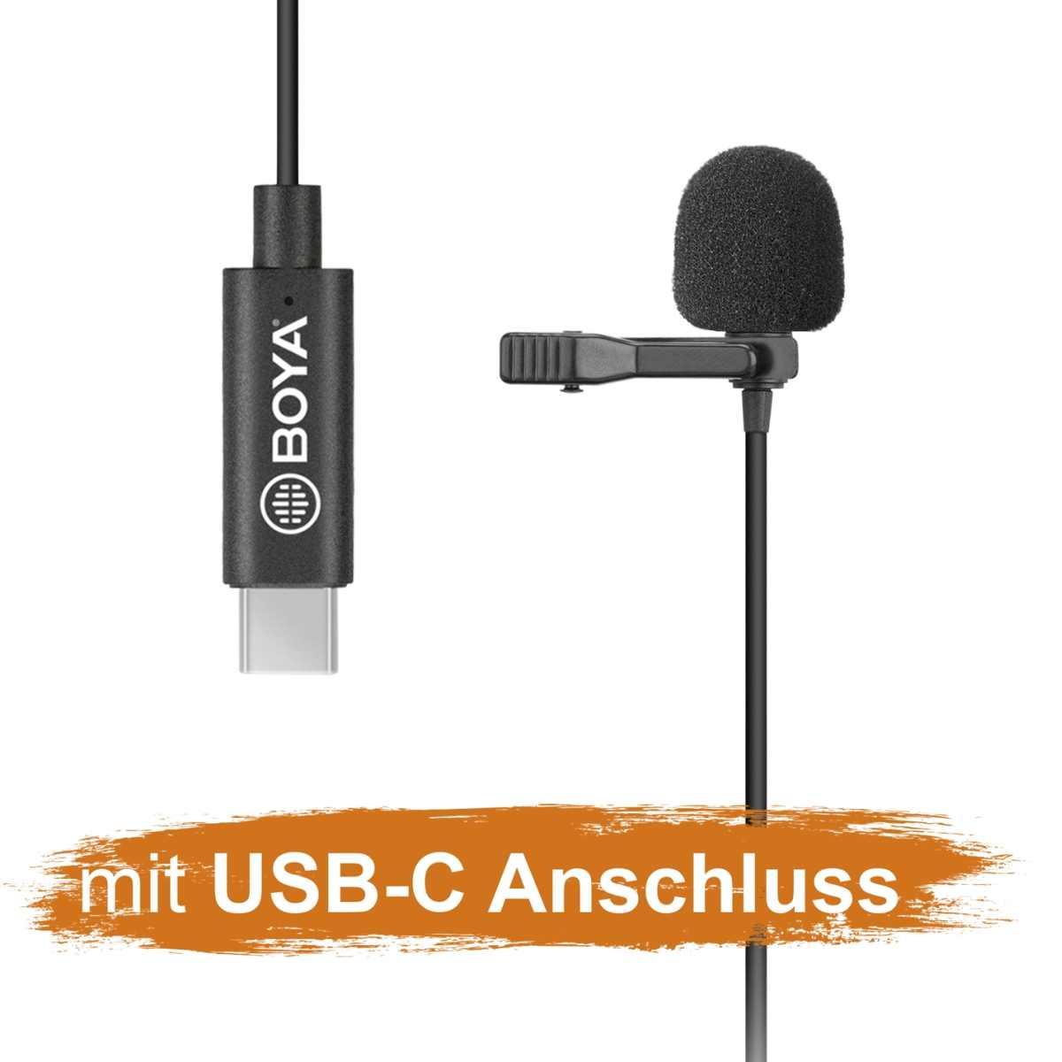 Walimex pro Boya M3 Lavalier Microphone Type USB-C