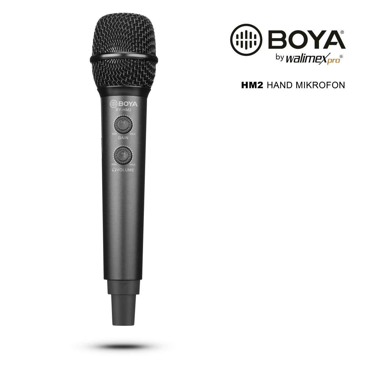 Walimex pro Boya HM2 Handheld Microphone