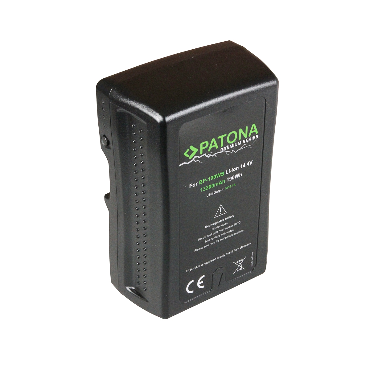 V-Mount Battery 190Wh / 14,4V / 13200mAh