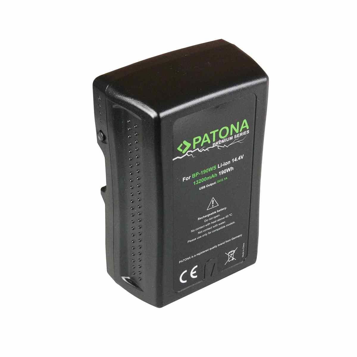 V-Mount Battery 190Wh / 14,4V / 13200mAh