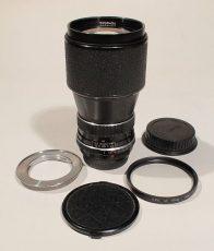 Μεταχειρισμένος Φακός Carl Zeiss 200mm f/4 για Rollei QBM mount + Adaptor για Canon DSLR EF & EF-S.