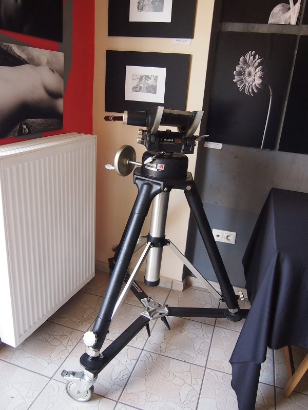 ⚙ QuickSet Gibraltar Model Heavy Duty Motion Picture Tripod