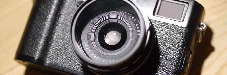⚙ Fujifilm X100F + Fuji Lens Hood