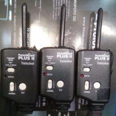 Μεταχειρισμένα 3 τμχ Pocketwizard Tranceiver PLUS II