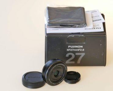 ⚙ Fujifilm XF 27mm F2.8