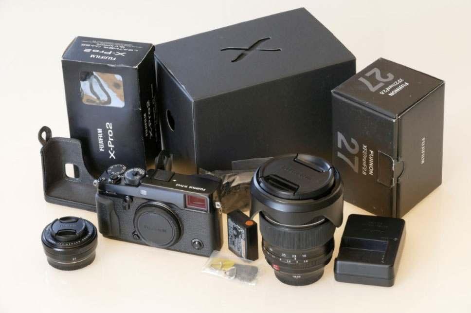 ⚙ Fujifilm X-Pro2 + XF 27mm F2.8 + XF 16-55mm F2.8 + Fujifilm Leather case BLC-XPRO2