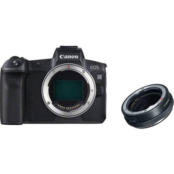 Canon EOS R Body + Adapter EF-EOS R Black