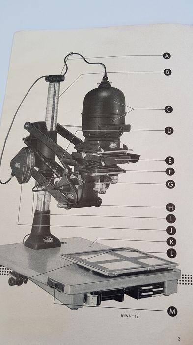 ⚙ Leitz Focomat IIC Enlarger Μεγεθυντήρας