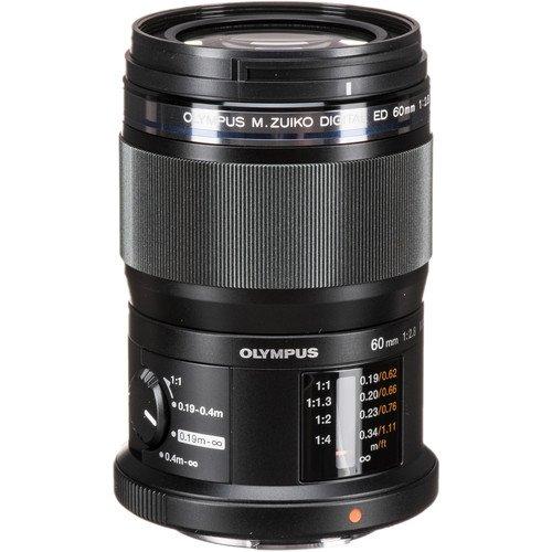 Olympus M.Zuiko Digital ED 60mm F2.8 Macro Black