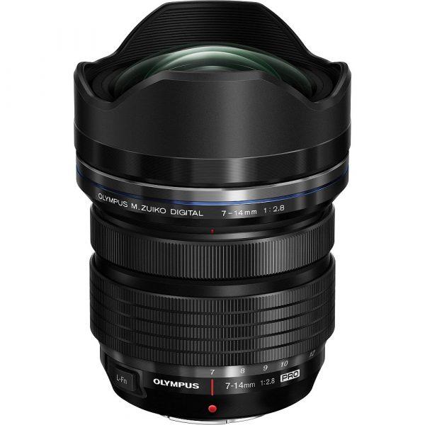 Olympus M.Zuiko Digital ED 7-14mm F2.8 PRO Black