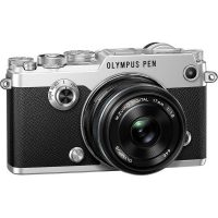 Olympus PEN-F Silver KIT + 17mm F1.8 Black