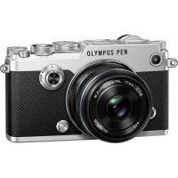 Olympus PEN-F Silver KIT + 17mm F1.8 Black