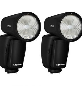 Profoto A1 AirTTL‐N Duo Kit + ΔΩΡΟ 4 Έξτρα Μπαταρίες